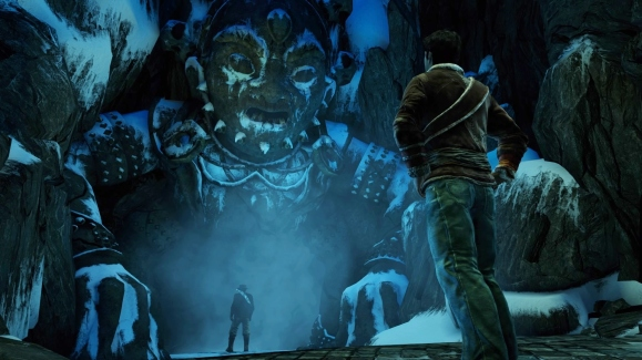 Ice Cave Statue