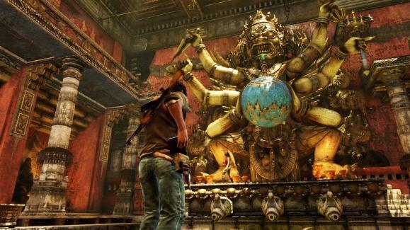 Nepal Gold Statue
