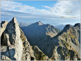 Daikiretto from Mt. Karasawa (3,110m) - Kita Alps, Japan