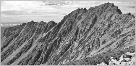 Godzilla's Back - Kita Alps, Japan