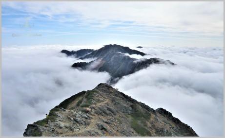 Shirane Sanzan Ridgeline - Minami Alps, Japan