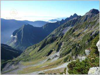 Mt. Minami (3,032m) Descent - Kita Alps, Japan