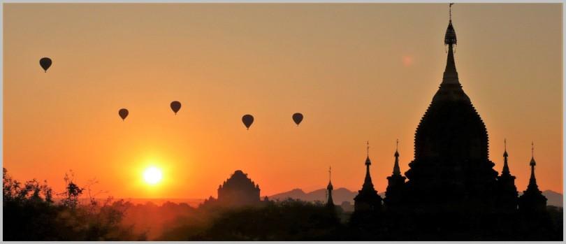 Panorama - Bagan Sunrise Final